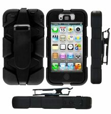 NUOVO Militare Heavy Duty dura robusta SURVIVOR costruttori Case per iPhone 4 4S-UK
