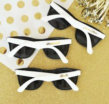 6 White Bridal Party Wedding Sunglasses Bridal Shower Wedding Favors