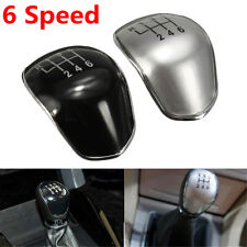 Black 6 Speed Gear Shift Knob Cap Cover Ford Mondeo Galaxy Fiesta Focus Transit