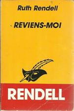 RUTH RENDELL REVIENS-MOI