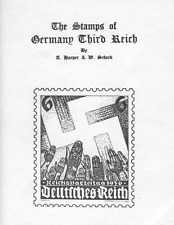 CATALOGUE THE STAMPS OF GERMANY THIRD REICH HARPER & SCHECK CATALOGO FRANCOBOLLI