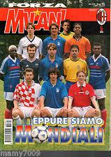 FORZA MILAN!=N°5 1998=SPECIALE FRANCIA '98! PAOLO MALDINI