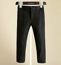 $215 Burberry Children Kids Boys Tailored Virgin Wool 12 Y Trousers Pants Gift
