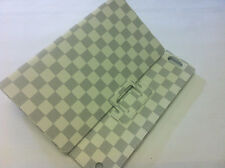 Luxury White checker design iPad2/3 case