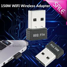 best 150Mbps 150M Mini USB WiFi Wireless Adapter Network LAN Card 802.11n/g/b OY