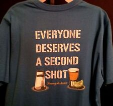 NEW TOMMY BAHAMA SHIRT Everyone Deserves a Second Shot Tequila MENS T SHIRT L