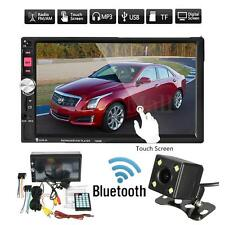 7Inch HD 2 DIN Bluetooth Touch Screen Car Stereo Radio FM/MP5/MP3/USB/AUX+Camera
