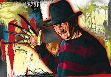 Freddy Krueger Nightmare on Elm Street  17 x 11 high quality poster