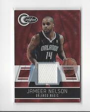 2010-11 Totally Certified Red Jameer Nelson JERSEY Magic /249