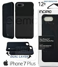 INCIPIO DualPRO 2 Layer Impact Drop Cover Case for Apple iPhone 7 Plus 5.5 BLACK