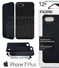 INCIPIO DualPRO 2 Layer Impact Drop Cover Case for Apple iPhone 7 Plus 5.5 BLACK