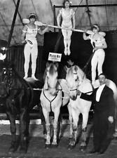Photo. 1914-5. Althoff Circus Act with Horses