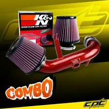 11-13 Mitsubishi Outlander Sport 2.0L Red Cold Air Intake + K&N Air Filter