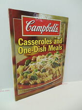 Campbell's Casseroles And One-Dish Meals Recipe Cookbook Home Cooked Food Dinner