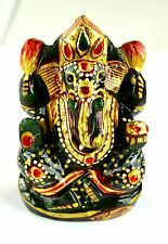 830 Ct Best Looking Natural Gold Art Work Jade Ganesha Figurine-Religion EBAY