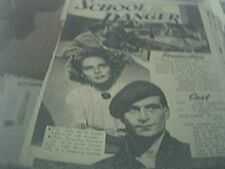 newspaper article 1947 - school for danger production 2 page