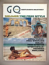 GQ Magazine - Summer, 1970 -- Israel -- nice cond. -- Gentlemen's Quarterly