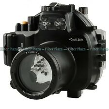 40M Waterproof Underwater Camera Housing Case for Olympus OMD EM5 & 12-50mm Lens