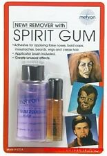 MEHRON SPIRIT GUM ADHESIVE AND REMOVER SET SPECIAL EFFECT GLUE ADHESIVE MAKE UP
