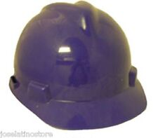 MSA PURPLE V-Gard Cap Style Safety Hard Hat Ratchet Suspension NEW FAST SHIP!