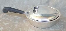 CARL POUL PETERSEN MONTREAL CANADA DANISH MODERNIST STERLING SILENT BUTLER DISH