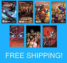 AMAZING SPIDER MAN 11 12 13 14 15 16 17 VERSE PARTS 3 4 5 6 MARVEL NOW 2015