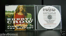 Sheryl Crow - The First Cut Is The Deepest 4 Track CD Single