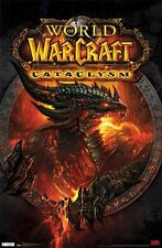2012 VIDEO GAME BLIZZARD WORLD OF WARCRAFT CATACLYSM POSTER 22x34 FREE SHIPPING