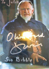 8x5 Hand Signed Photo Star Wars Oliver Ford Davies - Sio Bibble