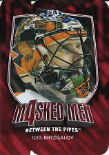 11/12 BETWEEN THE PIPES MASKED MEN 4 DIE-CUT MASK #MM-10 ILYA BRYZGALOV *26153