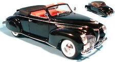 1939 Lincoln Zephyr SIGNATURE MODELS Diecast 1:18 Scale Black MIB
