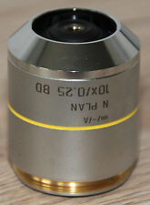 Leica Mikroskop Microscope Objektiv N PLAN 10x/0,25 BD (566005)