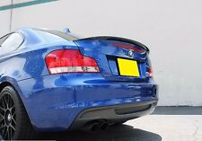 REAR TRUNK SPOILER ABS Performance P-Type For BMW E82 1 Series(Unpainted)