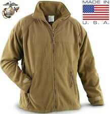 (Small Reg) NEW USMC Marine POLARTEC 300 Fleece Jacket ECWCS Gen II Coyote Liner