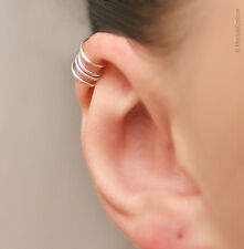 Helix ear cuff 4 rings for the upper ear/ Cartilage ear cuff/ for her/ for him