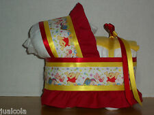 WINNIE THE POOH BOY NEUTRAL GIRL DIAPER BASSINET BABY SHOWER TABLE DECORATION