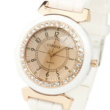 pulsera de reloj de pulsera de cuarzo de las mujeres de moda de lujo watch women