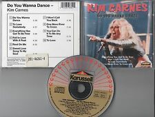 Kim Carnes CD DO YOU WANNA DANCE / KARUSELL PRESSUNG