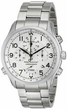 Bulova 96B183 Men's Precisionist Stainless Steel White Dial Chronograph Watch