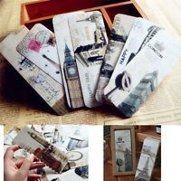 30 Pcs Creative Bookmarks Note Pad Memo Label Stationery Book Mark Funny SALE UK