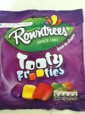 150 gram PACK OF ROWNTREES TOOTY FROOTIES - BRITISH SWEETS - WILL SHIP WORLDWIDE