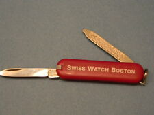 "Victorinox Swiss Army Knife, Small, Inscribed ""SWISS WATCH BOSTON"" Advertising"