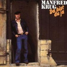 MANFRED KRUG - DA BIST DU JA  CD 12 TRACKS DEUTSCH-POP NEU