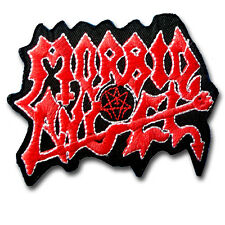 Morbid Angel Patch Iron on Music Death Metal Band Heavy Hard Rock Sew Badge Punk
