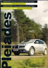 Subaru Pleiades Magazine No1 2008 UK Brochure Impreza Forester Outback Tribeca
