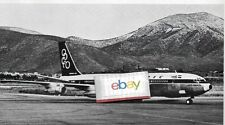 OLYMPIC AIRWAYS 1966 2 PG ARTICLE OLYMPIC EXPANDS ACROSS ATLANTIC 707'S ONASSIS
