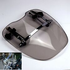 Motorbike Windscreen Windshield for Harley Dyna Softail Sportster Road King New