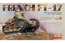Meng TS-011 1/35 FRENCH FT-17 Light Tank (Riveted Turret)