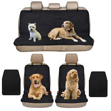 Front Car Seat Covers Pet Protectors w/ Bench Hammock Cover Liners