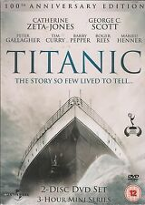 THE TITANIC - TV Mini Series. Catherine Zeta-Jones (NEW/SEALED 2xDVD SET 2012)
